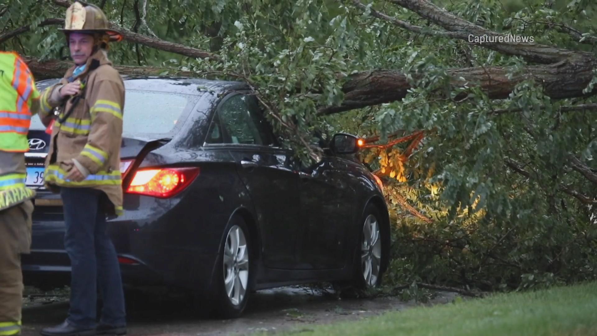 Szacowanie szkód po gwałtownych burzach