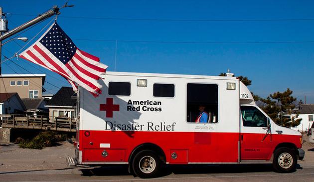 Chicagowski Czerwony Krzyż przygotowuje pomoc dla poszkodowanych przez Florence