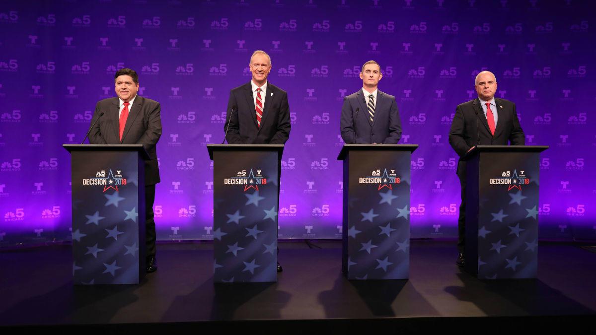 Telewizyjna debata kandydatów na gubernatorów Illinois