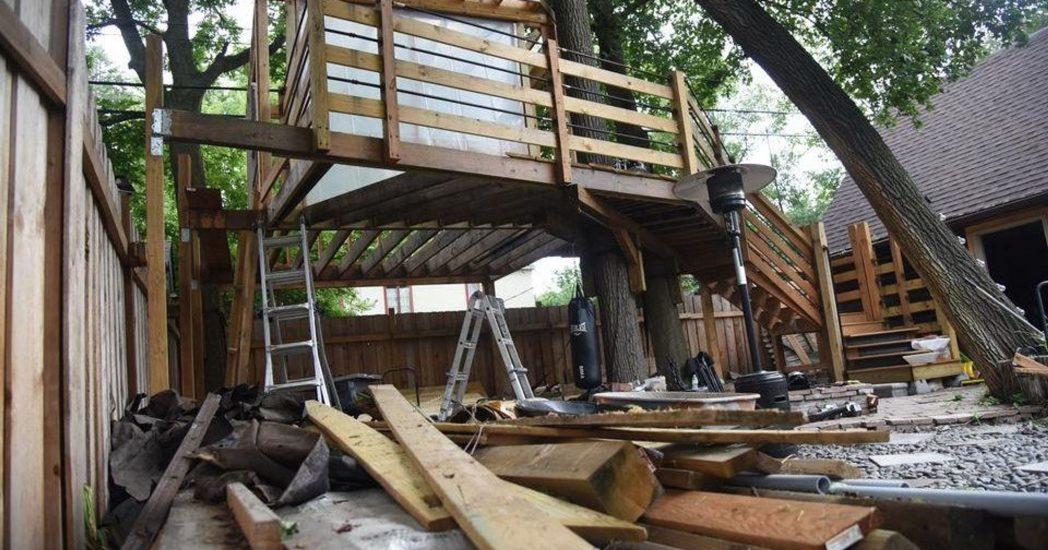 5 tys. dolarów kary za domek na drzewie