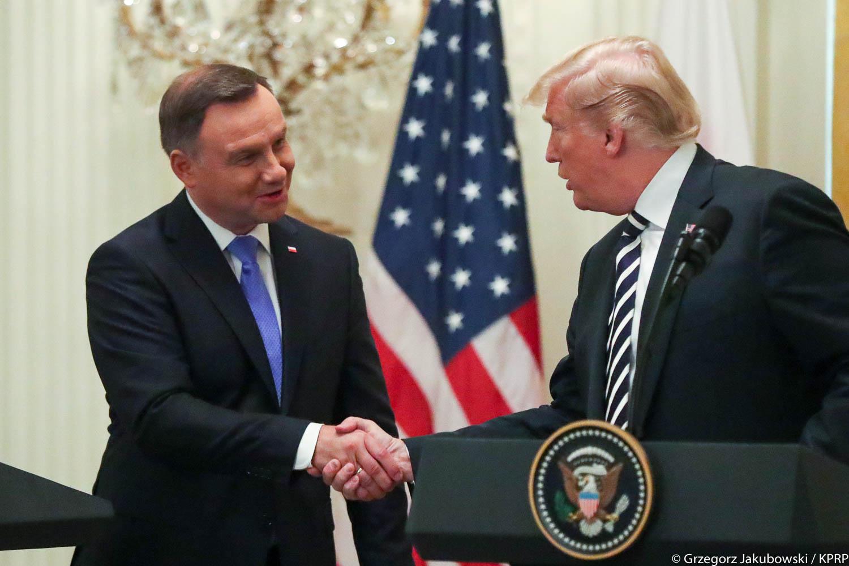 Biały Dom oficjalnie ogłosił wizytę Donalda Trumpa w Polsce