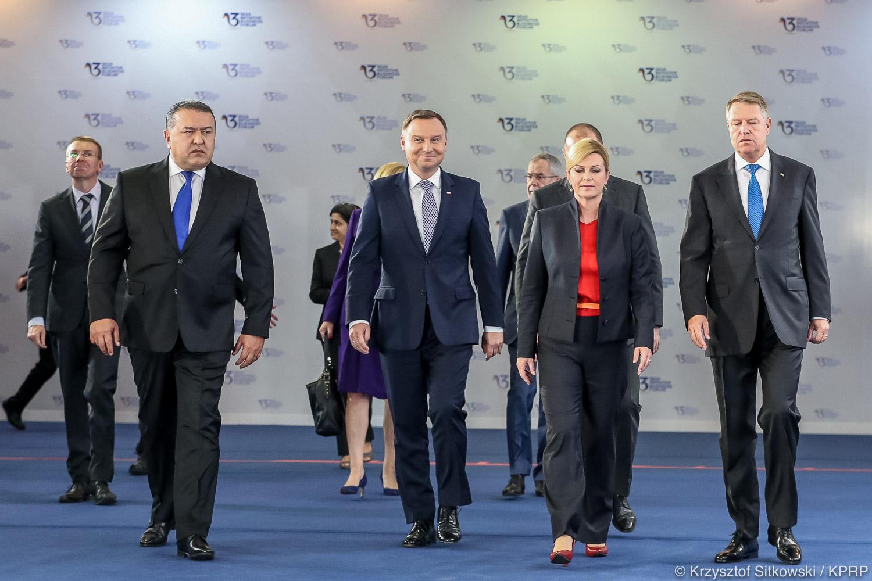 Wczoraj prezydent, dziś premier na szczycie Inicjatywy Trójmorza