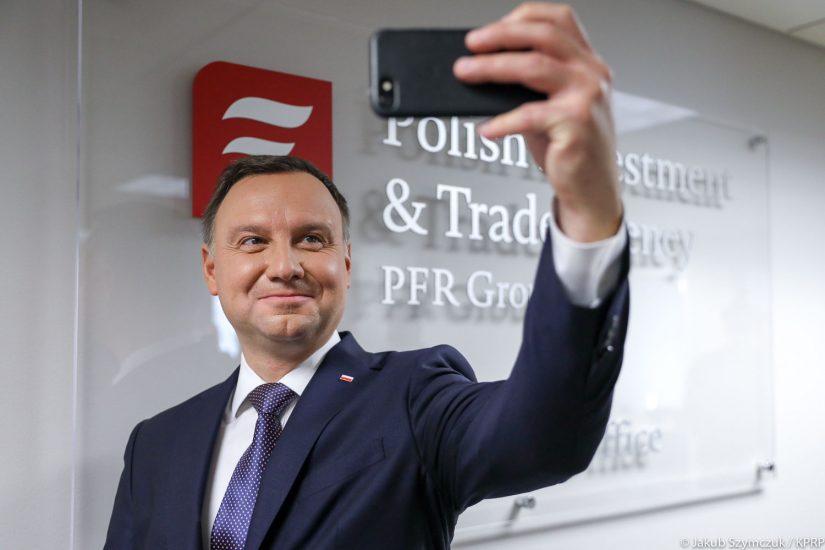 Prezydent Andrzej Duda w Nowym Jorku otworzył biuro PAIH