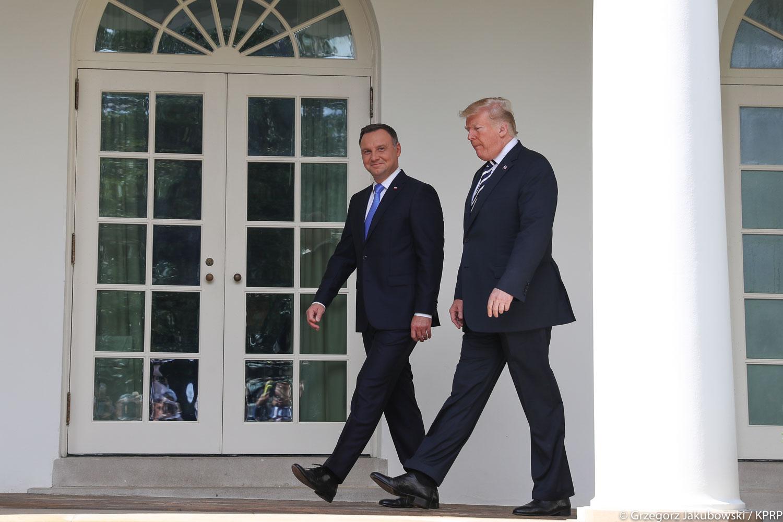 Fiasko Dudy: Trump oświadczył, iż USA nie planuje sankcji wobec Nord Stream 2