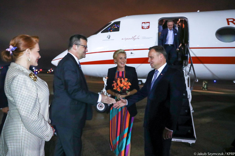 Para Prezydencka rozpoczęła oficjalną wizytę w Waszyngtonie