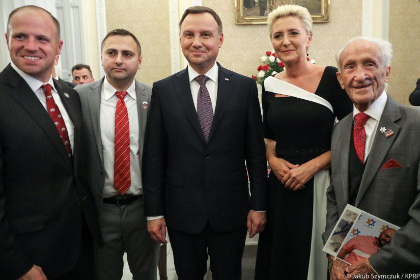 Prezydent Duda podziękował Polonii w USA