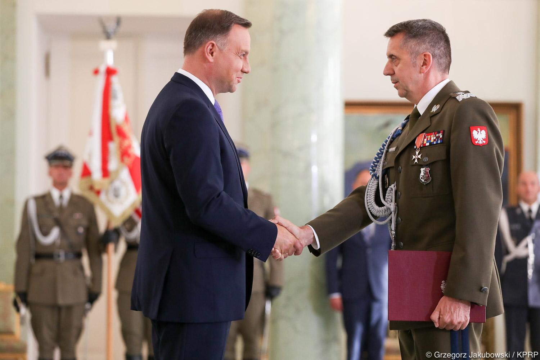 Prezydent mianował nowego Dowódcę Operacyjnego Rodzajów Sił Zbrojnych