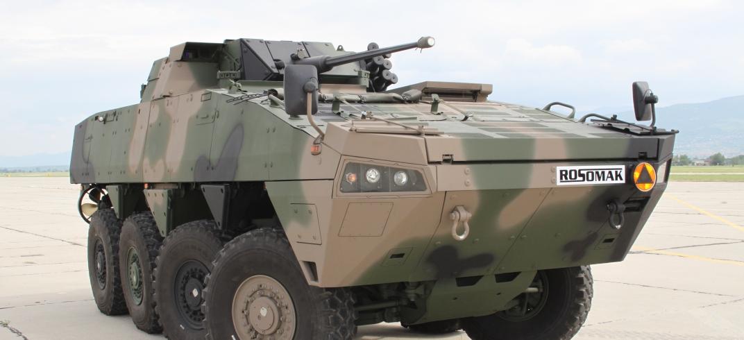 Polska zbrojeniówka pochwaliła się nowym wozem opancerzonym. Premiera KTO Rosomak