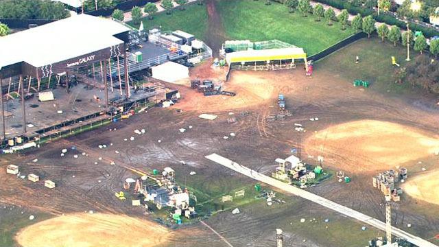 Prawie 400 tysięcy dolarów na sprzątanie parku Granta po festiwalu Lollapalooza