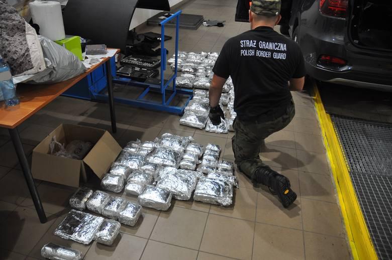Lubelskie: Przemycali narkotyki warte ponad 4 mln złotych. Wpadli i usłyszeli zarzuty