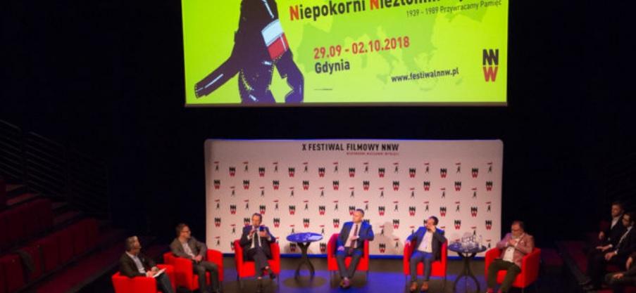 """W Gdyni uroczyście zainaugurowano X Festiwal Filmowy """"Niepokorni Niezłomni Wyklęci"""""""