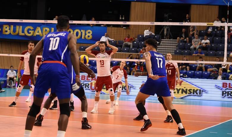Mistrzostwa świata siatkarzy 2018. Reprezentacja Polski rozprawiła się z młodymi Kubańczykami, choć była w opałach