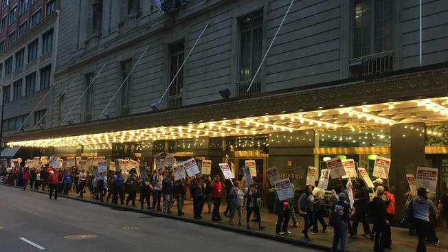 Pracownicy chicagowskich hoteli strajkują już tydzień