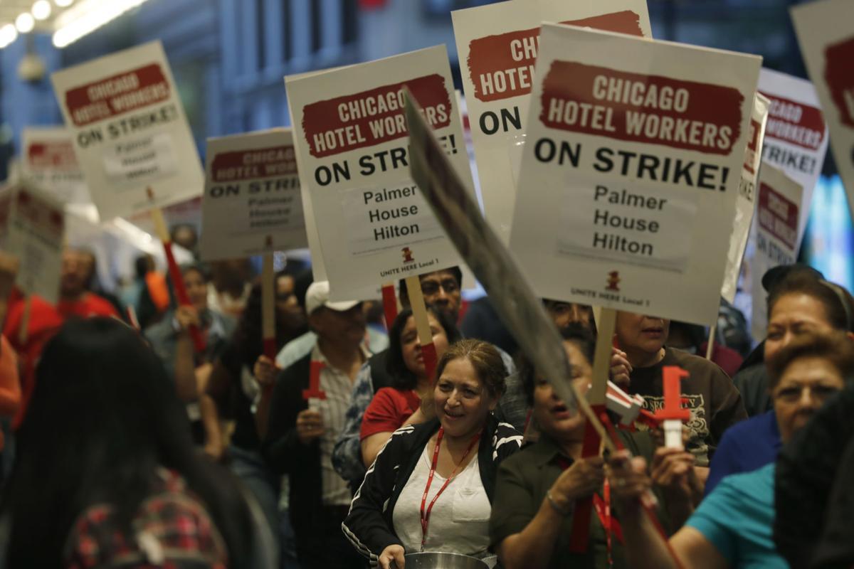 Strajk pracowników chicagowskich hoteli
