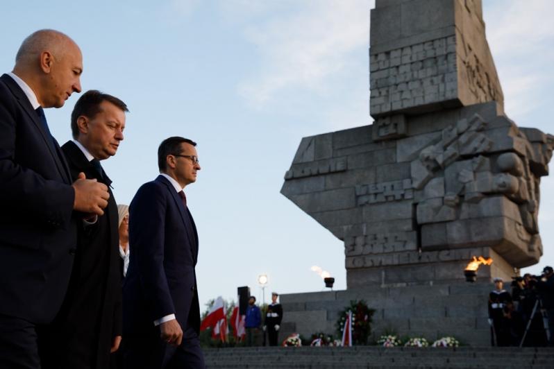 """Westerplatte: Obchody 79. rocznicy wybuchu II wojny światowej. """"Trudno o bardziej polskie miejsce"""""""