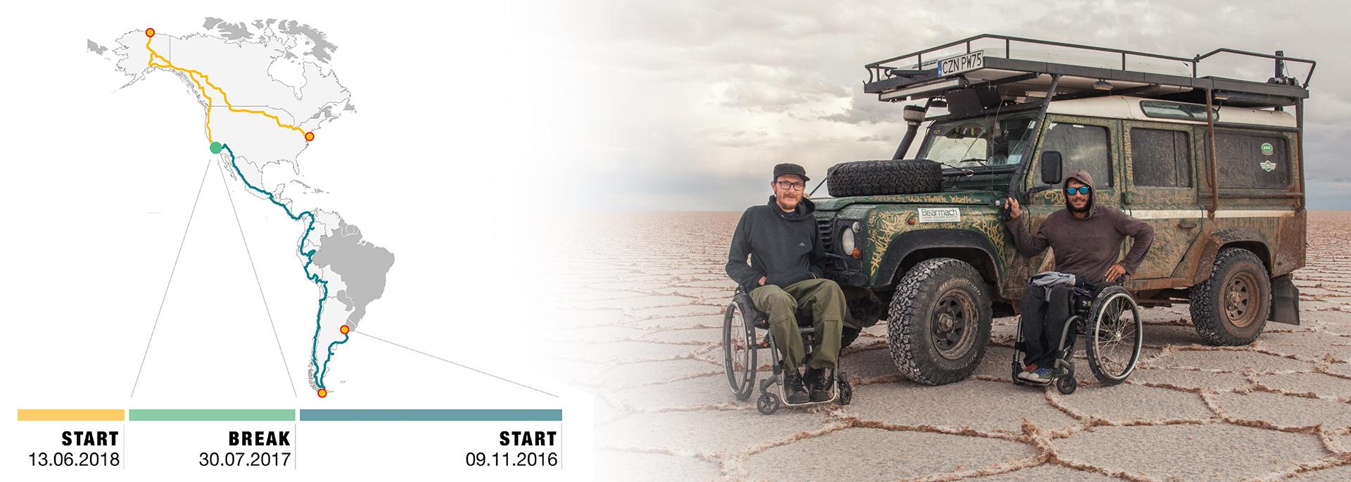 Dwaj Polacy udowodnili, że niepełnosprawność nie jest przeszkodą dla przeżycia wielkiej przygody…