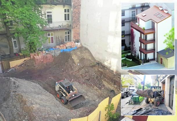 Skandaliczna inwestycja w centrum Krakowa. Wcisną blok w ciasne podwórko