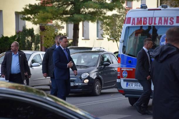 Oświęcim: Przesłuchania świadków kolizji z udziałem prezydenta