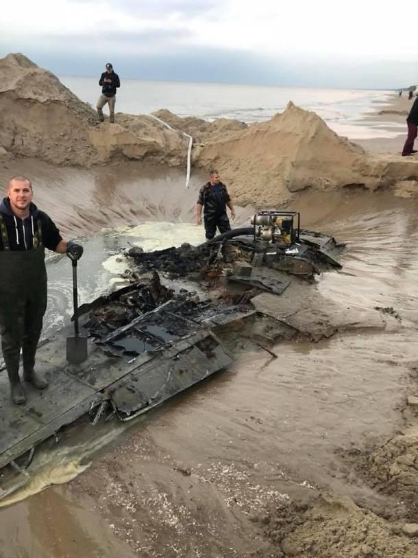 Pomorskie: Niemiecki samolot z czasów II wojny światowej odnaleziony w Bałtyku