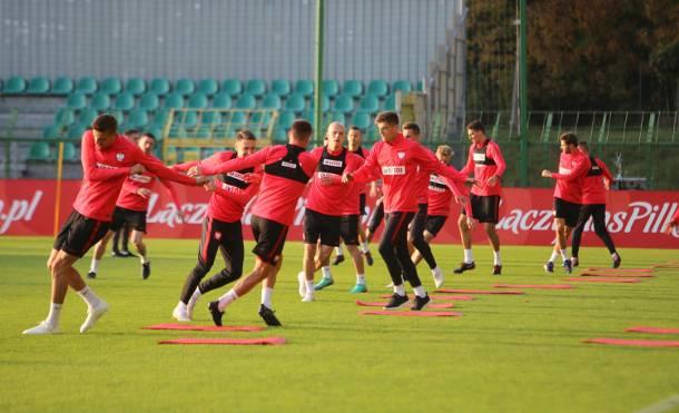Trening reprezentacji na stadionie GKS Katowice [FOTO]