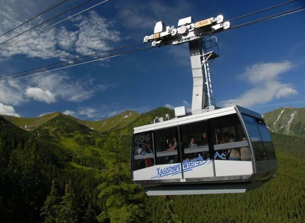 Polski Fundusz Rozwoju przejmuje kolejkę linową na Kasprowy Wierch, a także kilka innych kolejek w Tatrach i Beskidach