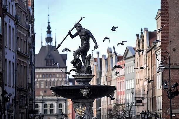 Symbol Gdańska kończy dziś 385 lat. Uruchomienie fontanny Neptuna nastąpiło 9 października 1633 r.