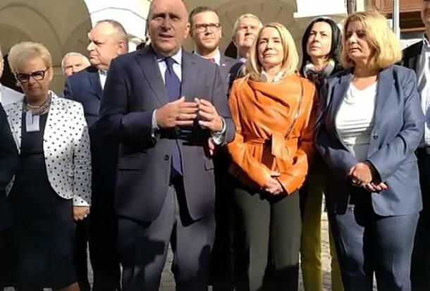 """Grzegorz Schetyna w Świdnicy: """"Mamy dobrych kandydatów i dobre projekty!"""""""