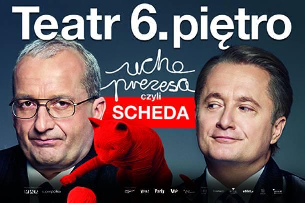 Ucho Prezesa w Teatrze 6. Piętro. W Warszawie zobaczymy bój o schedę po Prezesie. O spektaklu rozmawiamy z Mikołajem Cieślakiem