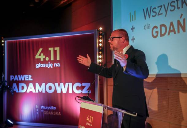Paweł Adamowicz z poparciem Platformy Obywatelskiej w drugiej turze wyborów