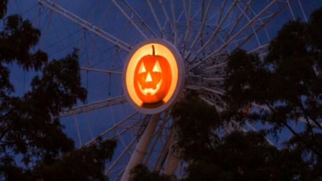 Darmowa przejażdżka Centennial Wheel z okazji przypadającego dziś Halloween