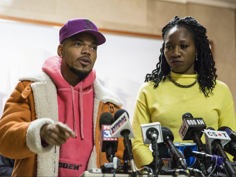 Chance the Rapper poparł aktywistkę w wyborach na burmistrza Chicago