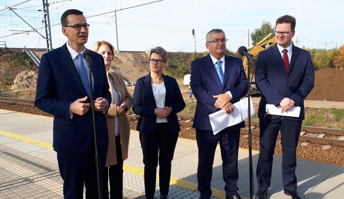 Nowy program rządu: Kolej Plus. Na liście Jastrzębie-Zdrój, Myślenice, Sokołów Podlaski, Żnin, Turek i Śrem