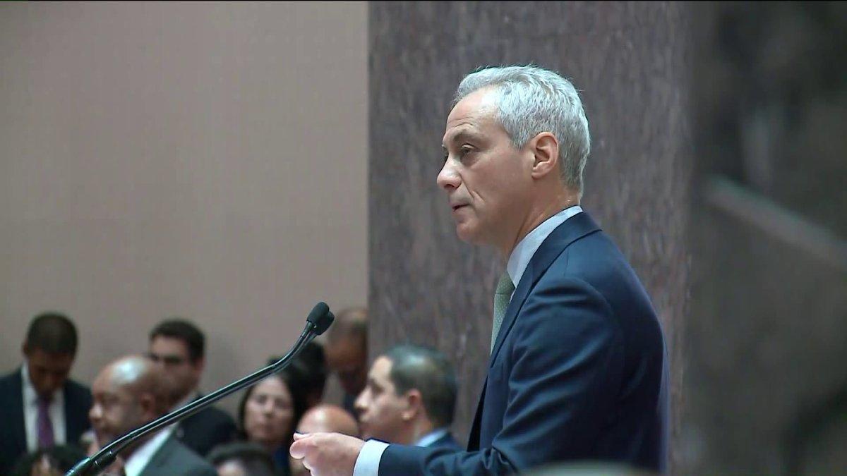 Burmistrz Rahm Emanuel przedstawił projekt reformy etycznej