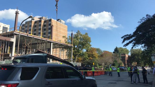 Nie żyje Polak przygnieciony stalową belką na placu budowy w Evanston