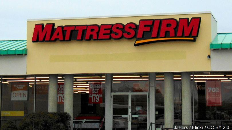 Mattress Firm bankrutuje