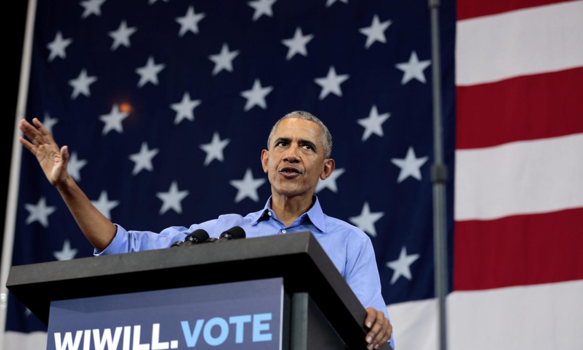 Barack Obama krytykuje prezydenta Donalda Trumpa i Republikanów