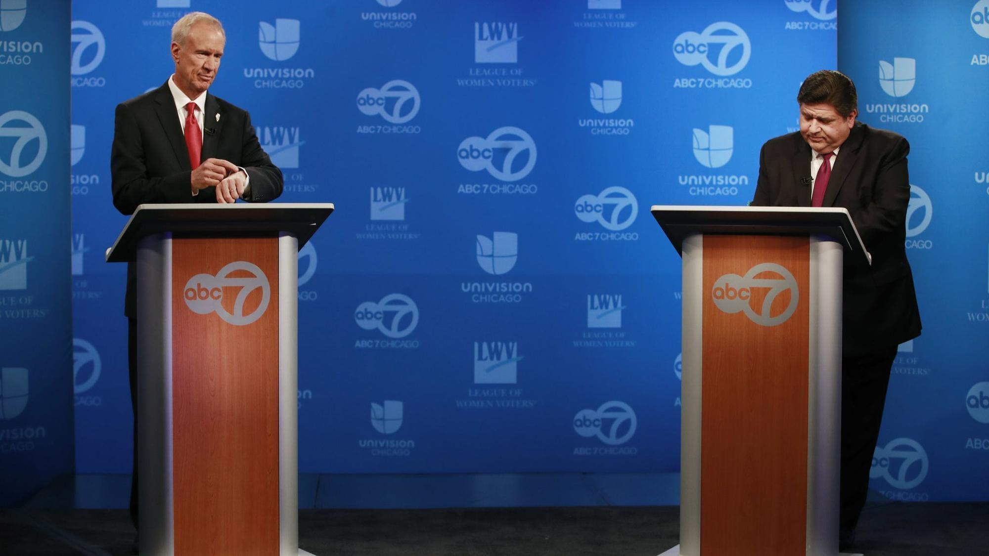 Podatki i legionelloza głównymi tematami drugiej debaty kandydatów na gubernatora Illinois