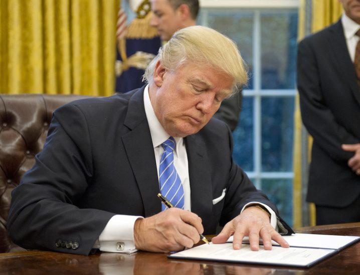 Prezydent Trump ustanowił 27 stycznia Narodowym Dniem Pamięci o 75. Rocznicy Wyzwolenia Auschwitz