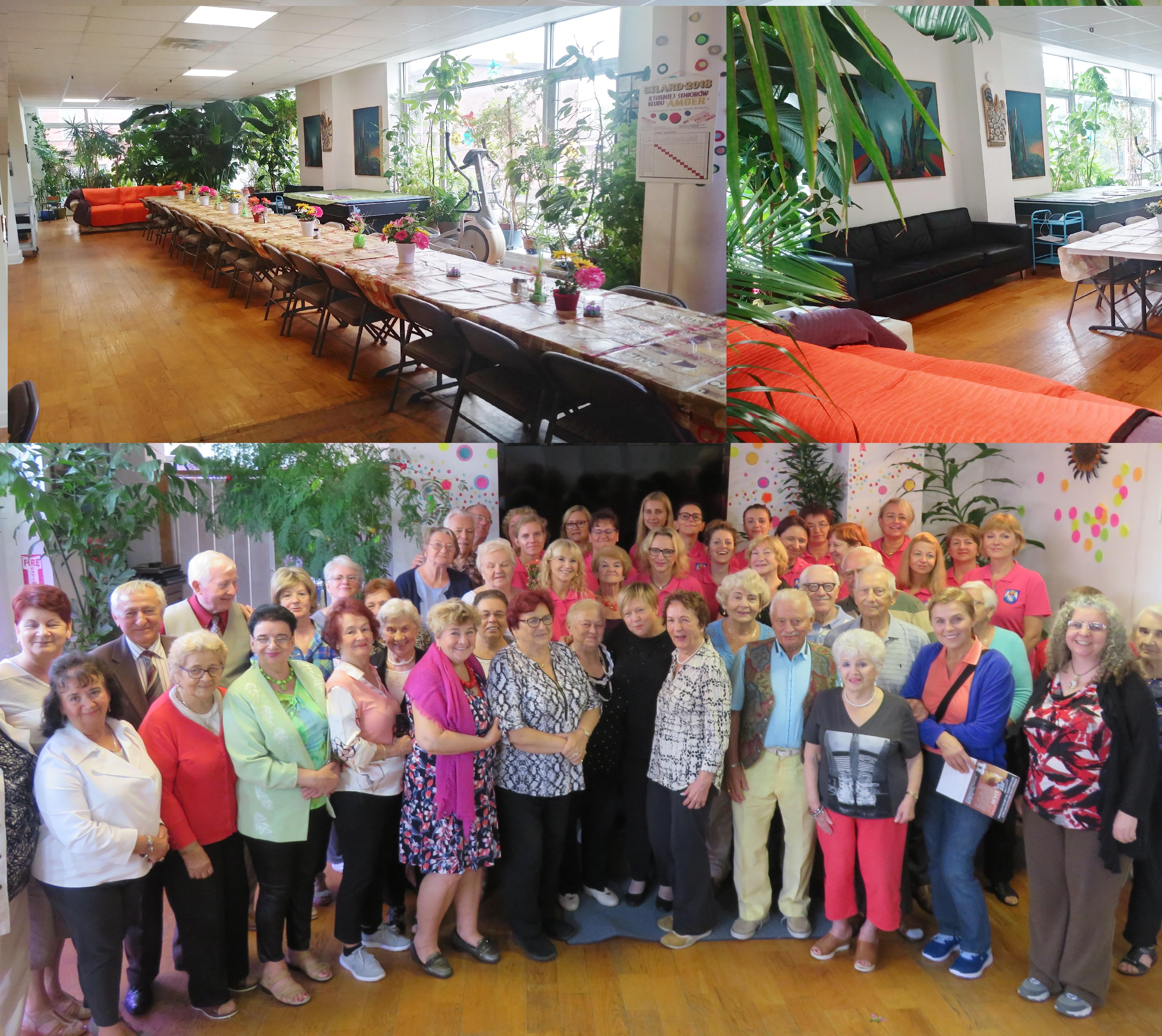 Jubileusz pięciolecia polskiego Klubu Seniora  Amber Health na Greenpoincie
