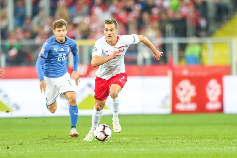 Liga Narodów: Polska-Włochy. Veratti i Jorginho skompromitowali nasz środek pola. Spadamy na poziom B!