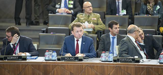 """""""Fort Trump"""" głównym tematem rozmowy ministrów obrony Polski i Stanów Zjednoczonych"""