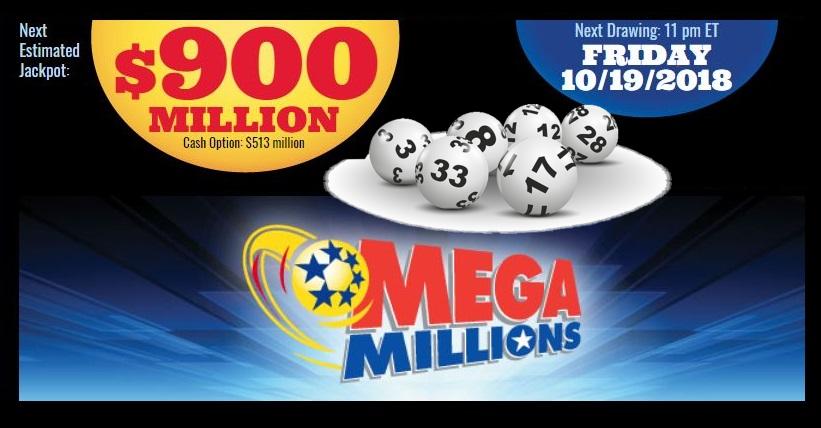 Rekordowa kumulacja w Mega Millions. Pula wzrosła do 900 milionów dolarów!