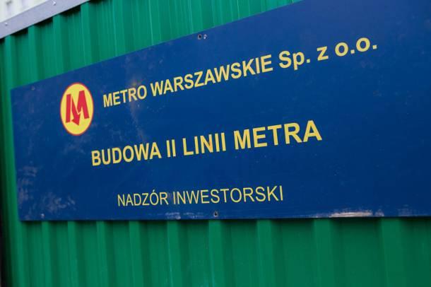 Rozbudowa II linii metra zagrożona? Wykonawca jest na skraju bankructwa