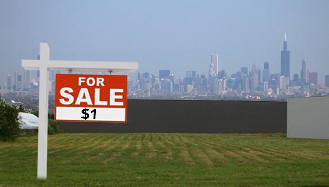 W Chicago można kupić działkę za 1 dolara