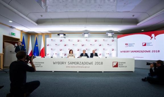 PKW podała kolejne wyniki wyborów w miastach wojewódzkich