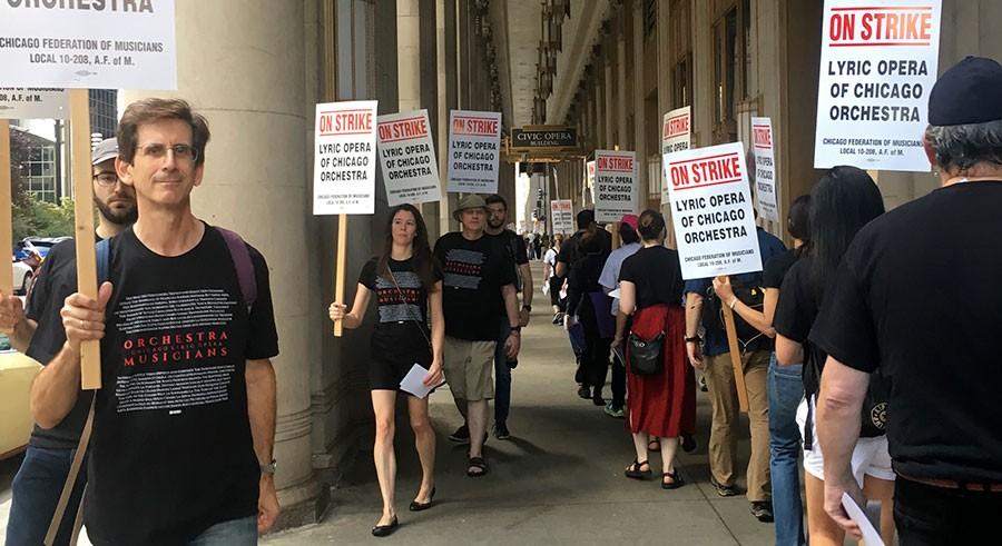 Strajk muzyków chicagowskiej Lyric Opera