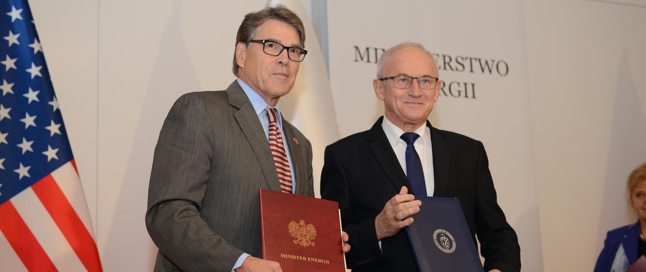 Polska i USA podpisały deklarację dot. bezpieczeństwa energetycznego