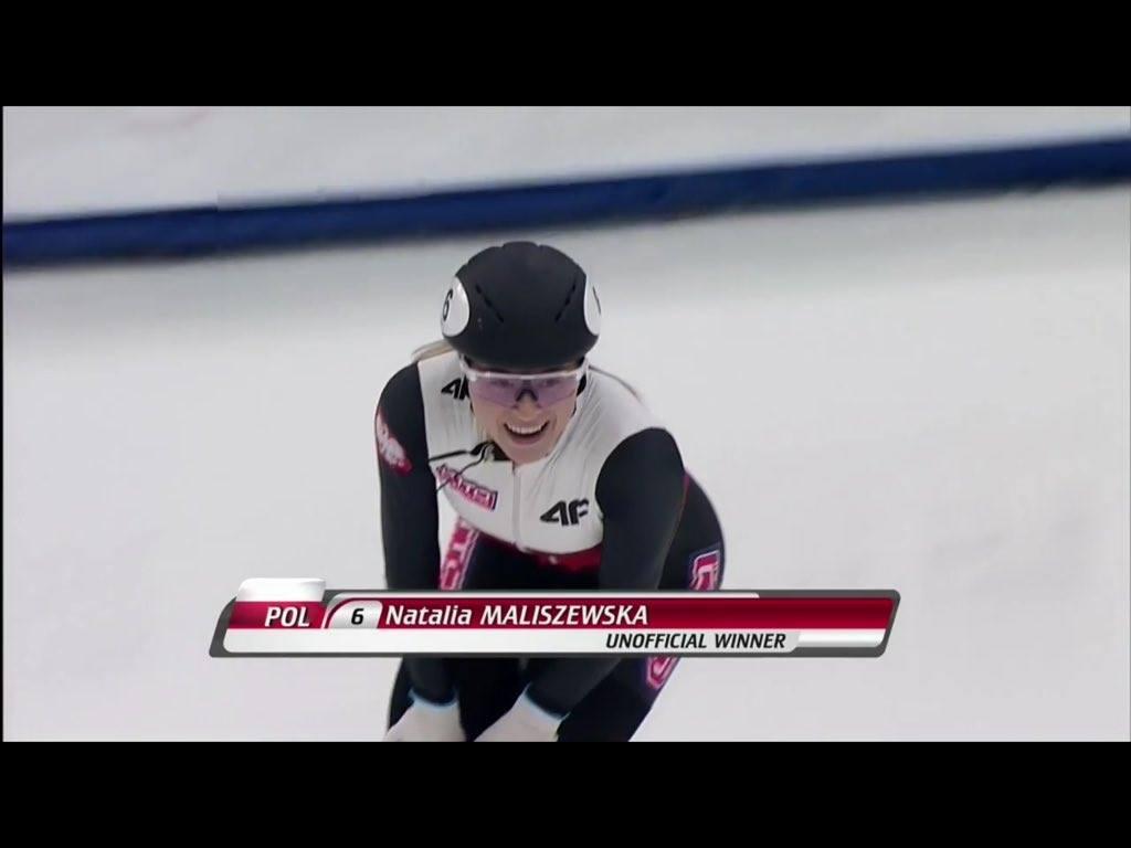 Short track: Natalia Maliszewska zdobywczynią Pucharu Świata na 500 m!