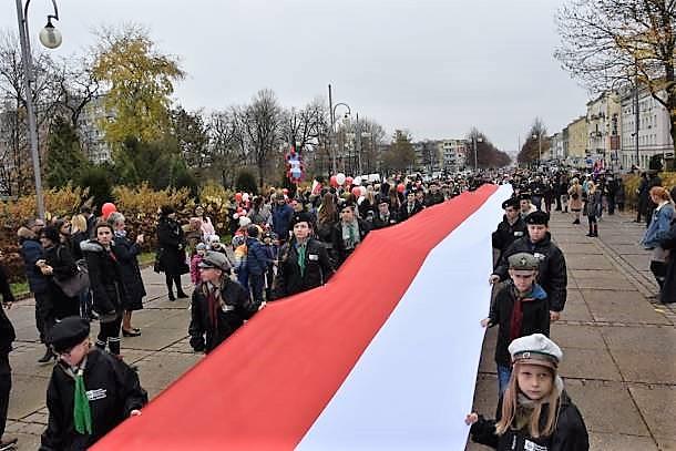 Zainaugurowano Jasnogórskie Obchody 100-lecia Odzyskania Niepodległości. Na wieży klasztornej wywieszono 100 metrową flagę Polski