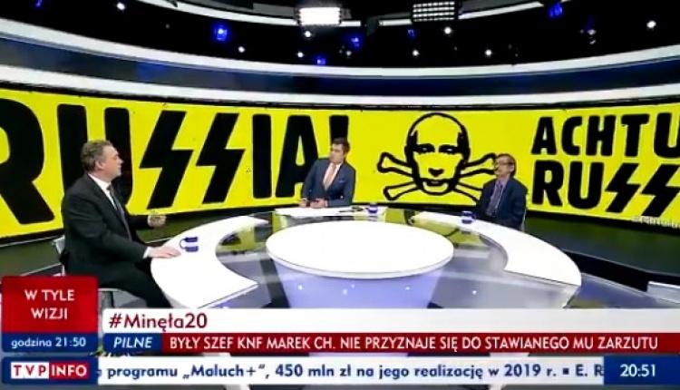 """Rosyjskie MSZ wezwało polskiego ambasadora. Powodem """"Achtung Russia!"""" w TVP?"""